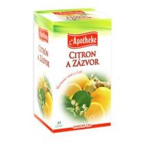 Citron a zázvor
