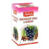 Hroznové víno a koření